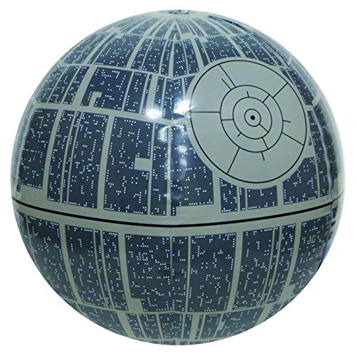 Light Up Beach Ball (SwimWays Star Wars Death Star Light-up Beach)
