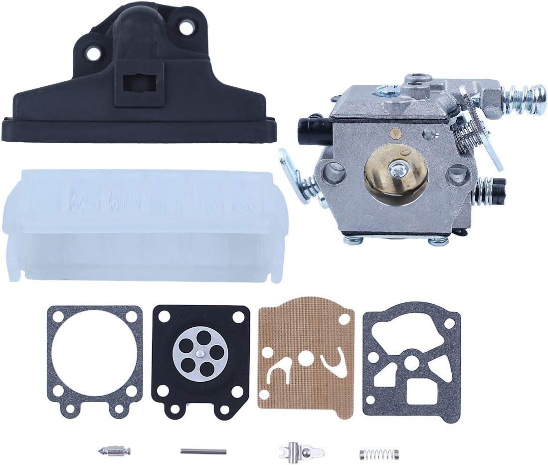 Haishine Carburador Filtro de Aire Carb Kit de reparación de Ajuste para STIHL 021 023 025 MS210 MS230 MS250 MS 210 230 250 Repuestos de Motosierra