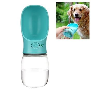 Fontic Botella de agua portátil para perros, Dispensador de agua para mascotas portátil para perros
