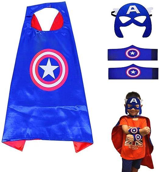 Disfraces de Superhéroes para Niños LMYTech Máscaras de Cosplay de ...