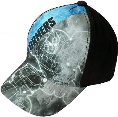 Transformers Cappys 52/54 - Gorra para niño, Color Azul y Negro ...