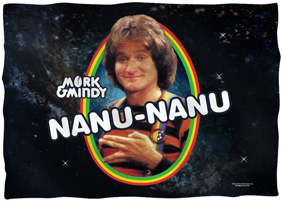 Amazon.com: Nanu-Nanu - Mork & Mindy - Pillow Case (Front/Back ...