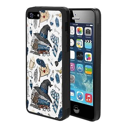 Amazon.com: Linghan - Carcasa para iPhone 5 y 5S, diseño de ...