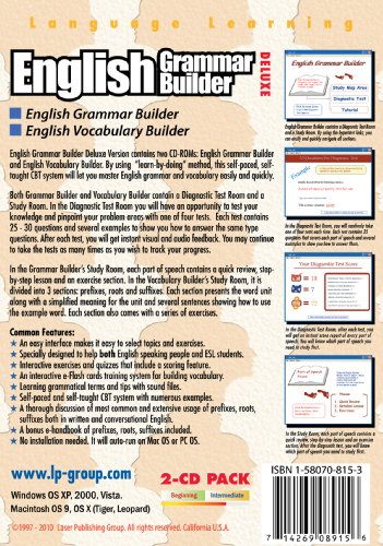 Amazon.com: English Grammar Builder Deluxe