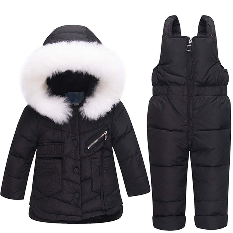 b4d66bc7ebf Amazon.com: Mandaartins Children's Clothing Set Duck Down Jacket ...