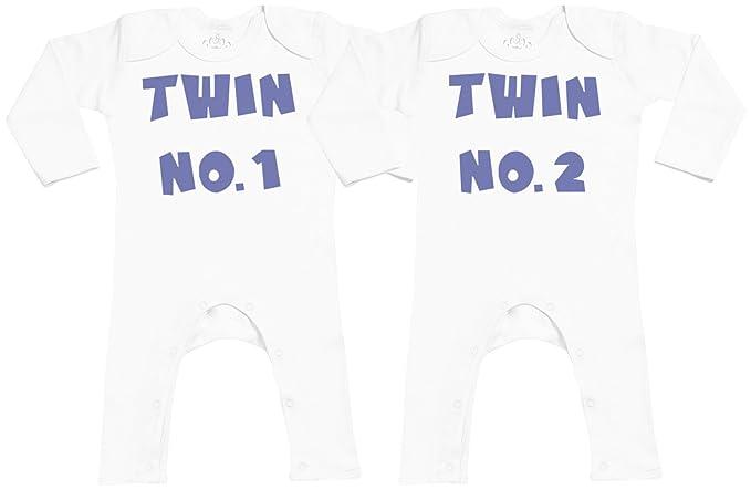 c379f91c7 SR - Twin No.1 Twin No.2 Baby Footless Romper - Baby Romper Gift ...