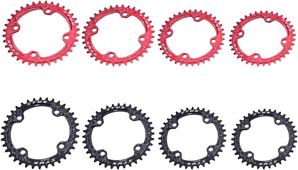 MTB Road Bike Bicycle 32T Narrow Wide Single Crankset Chainring Guard Black