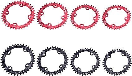 36T BCD:110 Chainring Chain Ring BMX Track Fixie Road Single Speed Bike black
