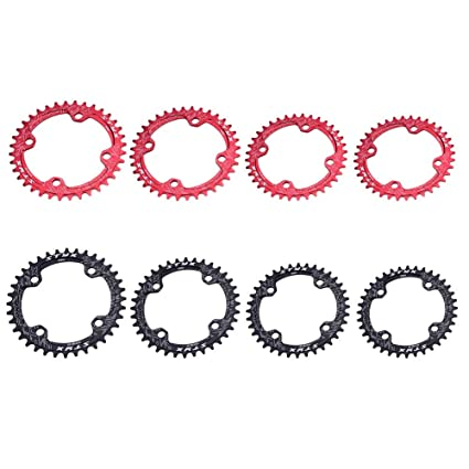 MTB Bike Narrow Wide Chainring 32//34//36//38T Bicycle Chain Ring BCD 96mm 104mm