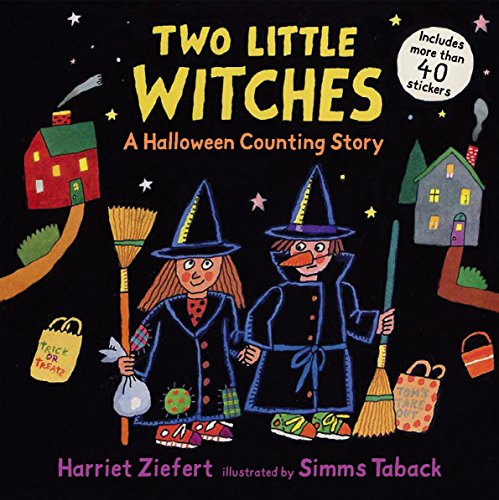 (Two Little Witches: A Halloween Counting Story Sticker)