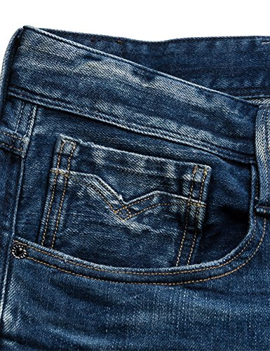 Denim 9 Uomo Anbass blue Blu Replay xvISqzXv