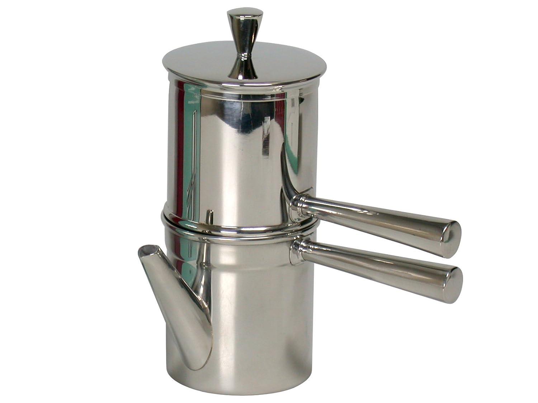 ずっと気になってた Ilsa Neapolitanコーヒーメーカー、ステンレススチール、シルバーカラー、6カップ用 Ilsa B00BE2NI8O, Flamingo House:b8645ecd --- teste.bsicapital.com.br