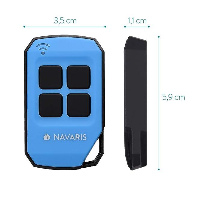 Amazon.com: Navaris 433 MHz - Mando a distancia para puerta ...