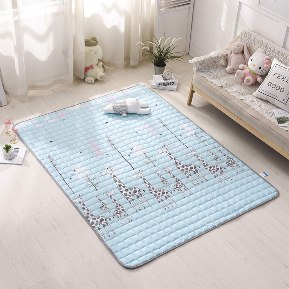 G 180x200cm(71x79inch) Non-Slip Futon Tatami mat Sleeping, Foldable Tatami Floor Mattress pad Quilted Fitted Student Dormitory Bed mat Simmons Available-D 180x200cm(71x79inch)