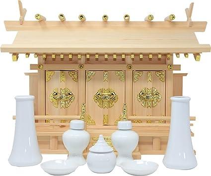 Amazon Com Matsuyama Store Shinto Shrine Shelf Through Roof Three