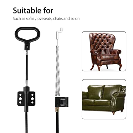 Sofa Replacement Parts Recliner Release Pull Handle Couch Chair Universal  New