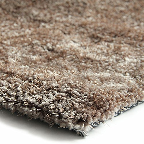 monbeautapis 120300 best of tapis polyester taupe 170 x 120 cm - Tapis Taupe