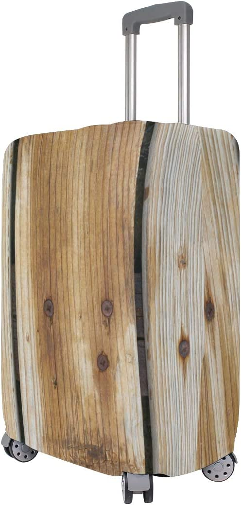 Travel Luggage Cover Wood Fibre Boards Timber Suitcase Protector