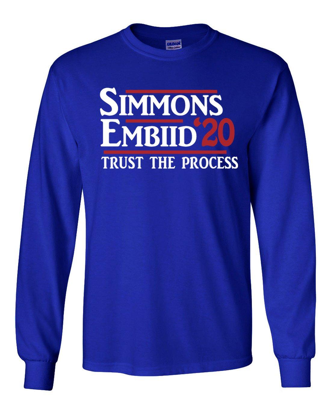 Blue Simmons Embiid Philadelphia 2020 Shirts