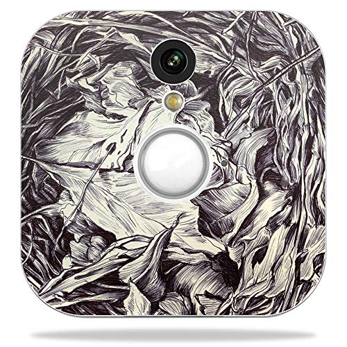 MightySkins Skin for Blink Home Security Camera - Nest Sketch | Protective, Durable, and Unique Vinyl Decal wrap Cover | Easy to Apply, Remove, and Change Styles | Made in The USA