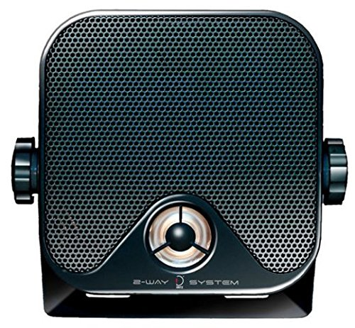 Dietz Aufbaulautsprecher 2-Wegesystem 90 Watt schwarz, 1 Paar Audiotechnik Dietz® CX-4MB