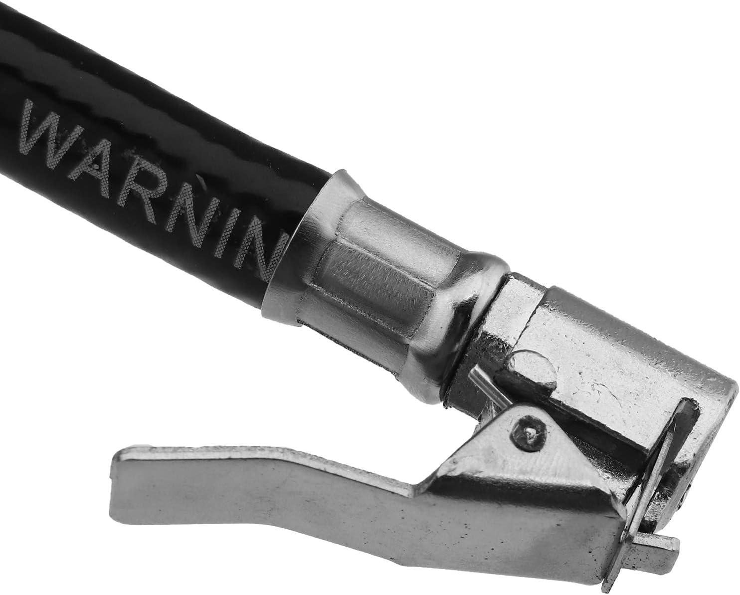 Schlauch BIYM Reifenf/üller Druckluftpr/üfer Druckluftf/üller Reifendruckmesser Reifenf/üllger/ät Luftdruckpr/üfer Manometer /Ø 50mm Messbereich bis 15 bar