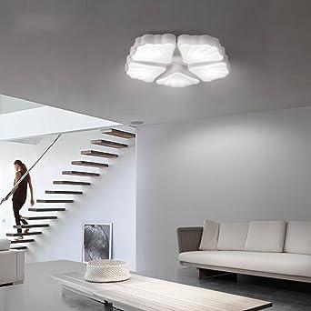 XIAOLIN Bndig Montieren Deckenleuchte Nordic Modern Minimalistisch Verstellbares Bgeleisen Wohnzimmer Schlafzimmer Studie Balkon Restaurant