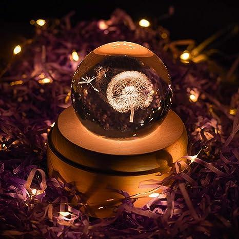 LED LIGHT SILVER FERRIS WHEEL ROTATE MUSIC BOX