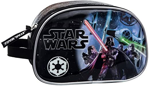 Star Wars Neceser Adaptable, Color Negro, 3.36 litros: Amazon.es: Equipaje