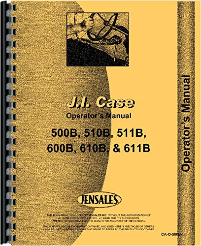 Download Case 611B Tractor Operators Manual pdf