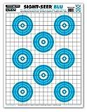 rifle targets human - Sight Seer Paper Bullseye Shooting Targets for Pistol & Rifle 19