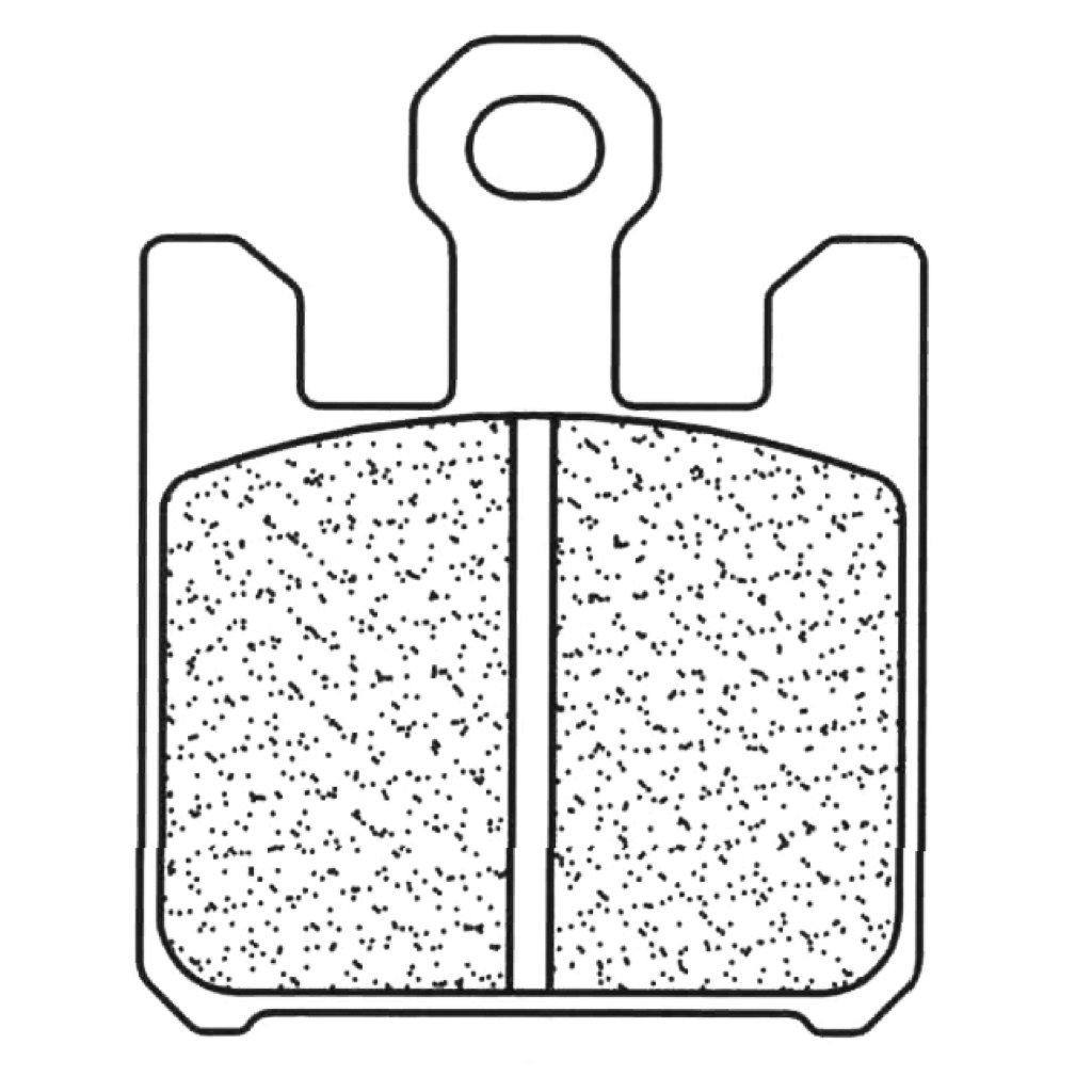 CL BRAKES - 1110A3+/54 : Pastillas freno delanteras CL ...