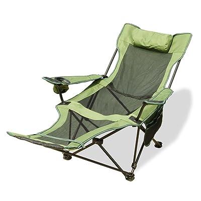 Chaise Longue Pliante D Exterieur Chaise De Peche Au Dos Portable