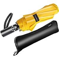 Newdora Paraguas Plegable Automático Impermeable 10 Armazones