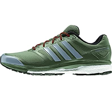 bed699048 Adidas Supernova Glide Boost Atr Mens Running Shoes 8.5 Green-neo  Iron-black  Amazon.co.uk  Shoes   Bags
