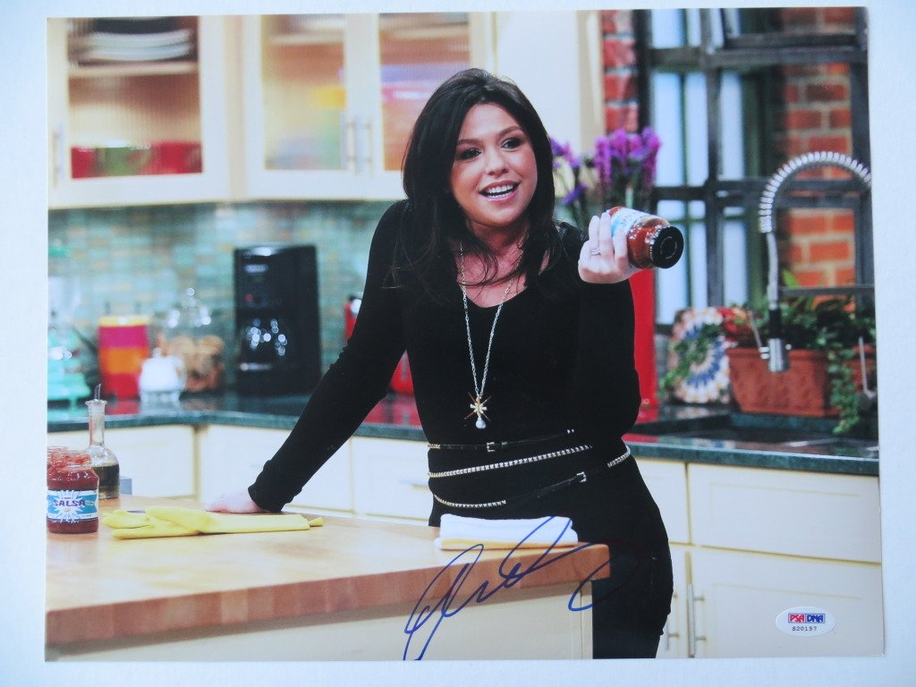 Rachael Ray Signed Food Network Authentic Autographed 11x14 Photo (PSA/DNA) at Amazon's Entertainment Collectibles Store