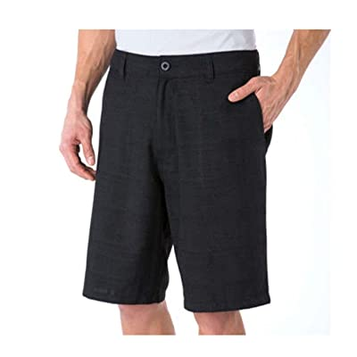 ONeill Mens Walkshort Casual Hybrid Size 34 Black: Clothing