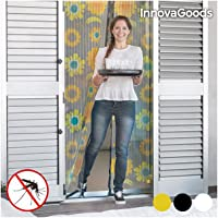 InnovaGoods IG116455 Cortina Mosquitera, Negro