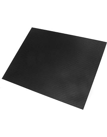 Tejido Liso 3K SOFIALXC 0.5mm Panel Laminado de Fibra de Carbono 100/% 500x600mm Superficie Lisa