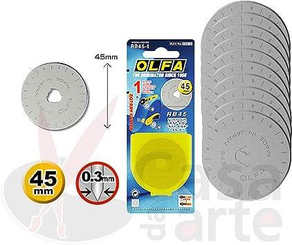 OLFA Rotary Blade Refill 45mm 5//Pkg