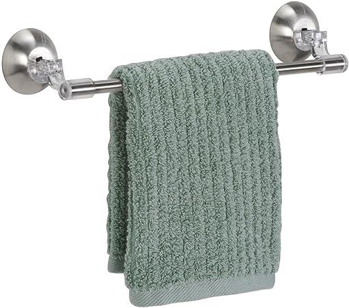 ganci scorrevoli da cucina senza chiodi e senza traceless per cucina e bagno ShawFly Porta asciugamani autoadesivo con spatola e cucchiaio da parete 2 pezzi