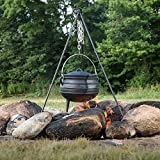Cast Iron Campfire Kettle - 1.5 Gal