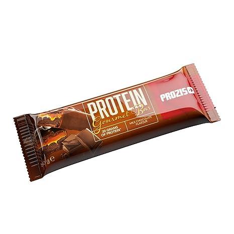 Prozis Protein Gourmet Bar 80G - Fuente De Proteína y Fibra - Sabor A Chocolate Y