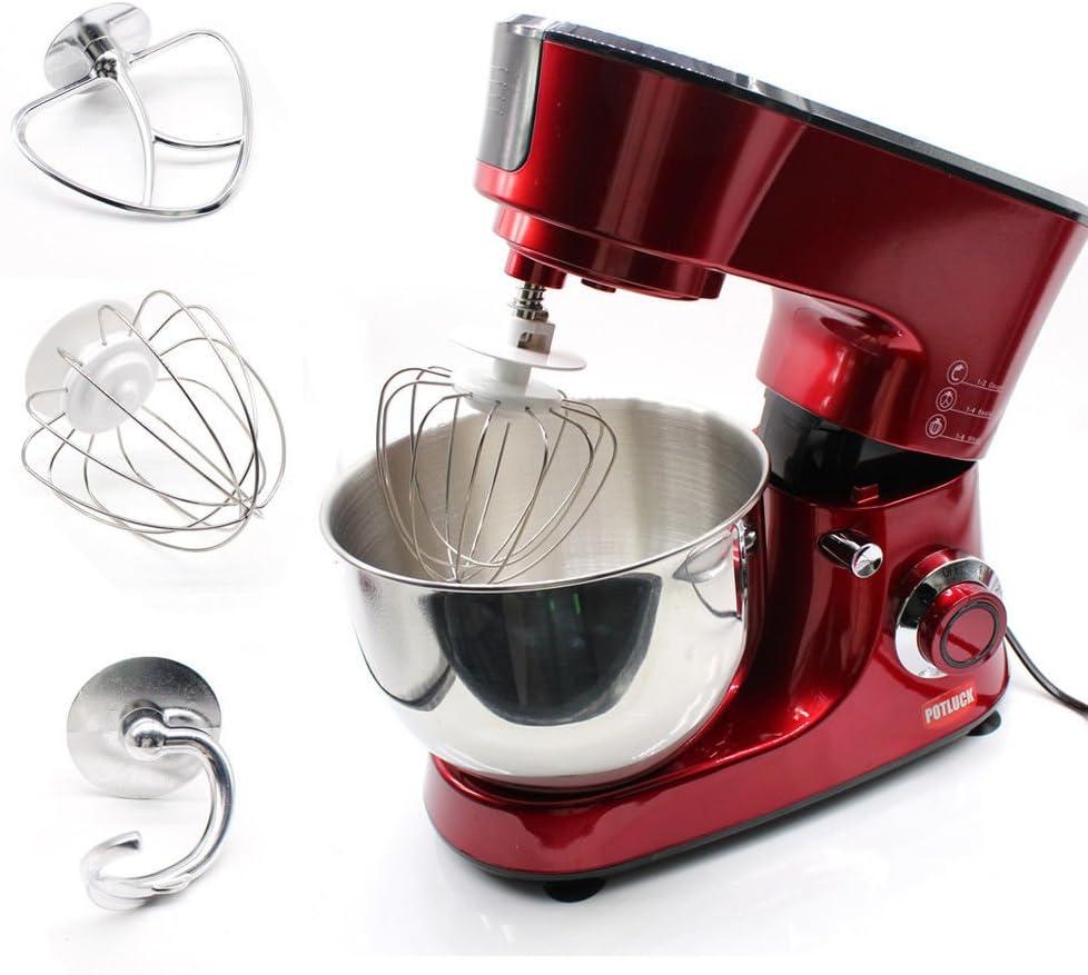 Mesa de mezclas para alimentos, Hansemay 1000W Cocina eléctrica ...