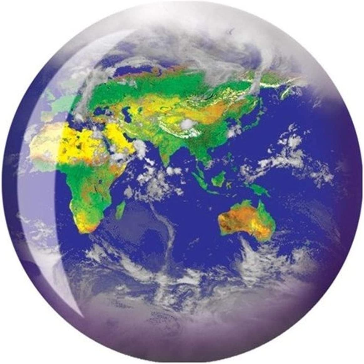 Brunswick Bowling Products World Viz-A-Ball Bowling Ball 15Lbs Blue//Green//White 15 lbs