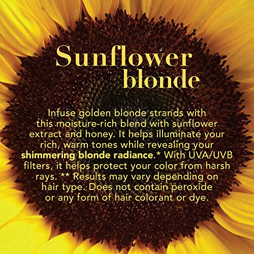 Amazon.com : OGX Hydrate & Color Reviving + Sunflower Shimmering Blonde Shampoo 13 Ounce : Beauty