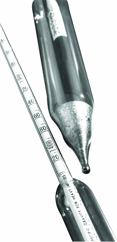 Case of 12 Thomas Durac Specific Gravity Plain Form Hydrometer 300mm Length Thomas Scientific B0069TPCJ0 Heavier Than Water 1.000 to 1.600 Range
