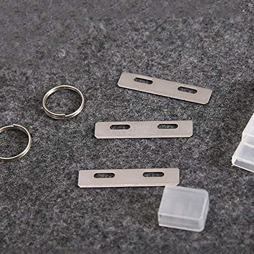 Handwerkzeuge mit 3 Klingen Gurtschneider Drehgelenk Lederstreifen GoodFaith Lederschneider zum Basteln von Lederwerkzeug