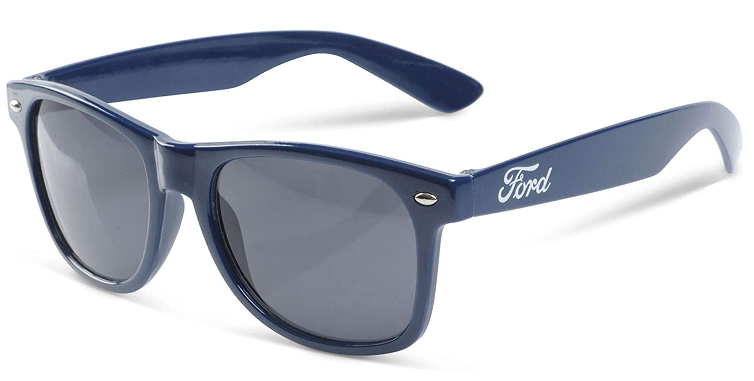 Gregs Automotive Ford Oval Boardwalk Sunglasses Bundle with Driving Style Decal