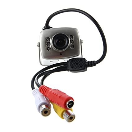 SODIAL(R) Mini Camara video a Color NTSC Espia Vigilancia Spycam